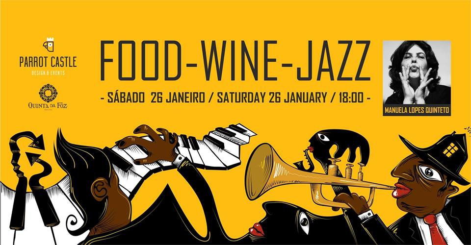 Food, Wine & Jazz at Parrot Castle