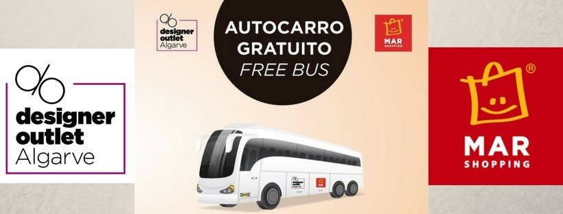 Free Bus to Designer Outlet Algarve and MAR Shopping Algarve