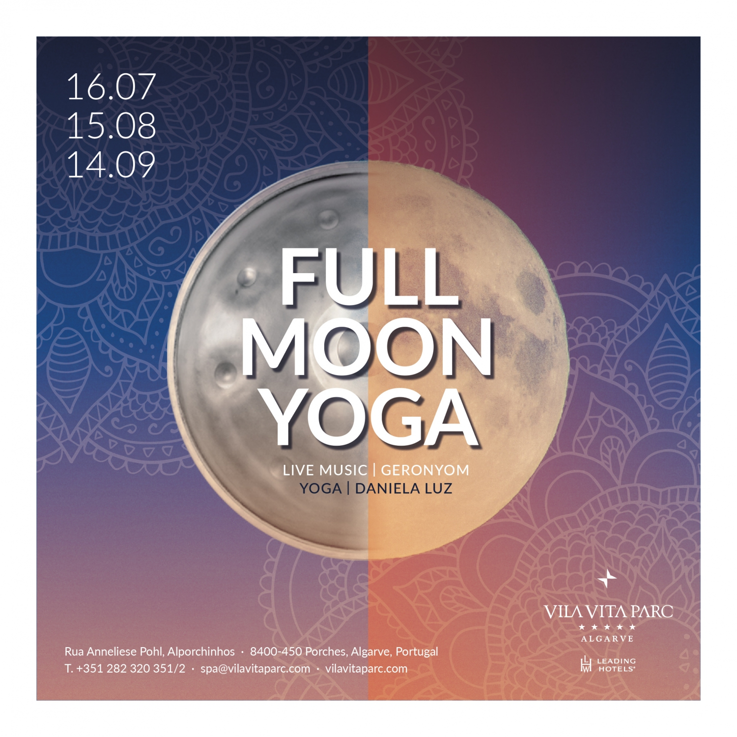 Full Moon Yoga at VILA VITA Parc