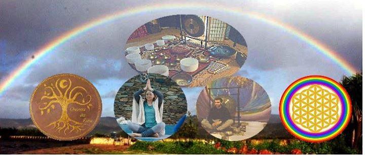 Gathering: yoga-sound journey-dance / Encontro: viagem sonora