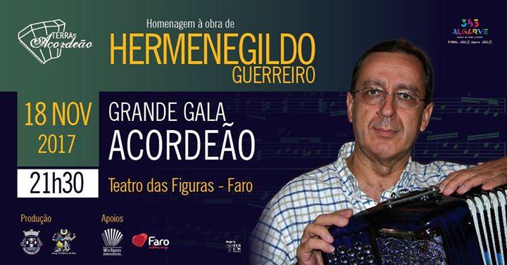 Grande Gala de Acordeão | Homenagem a Hermenegildo Guerreiro