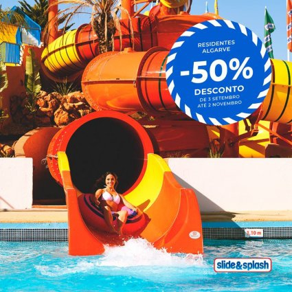 Great Autumn Discounts at Slide & Splash