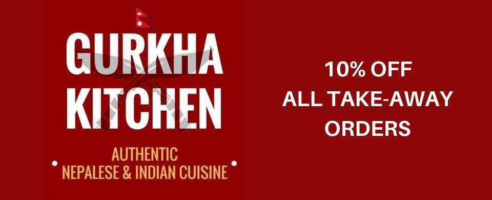 Gurkha Kitchen Discount on Take-Aways