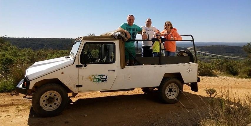 Half Day Algarve Jeep Safari Tour