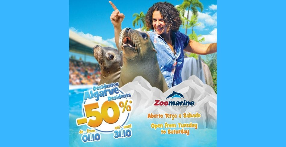 Half Price Tickets for Residents at Zoomarine
