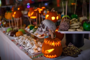 Halloween Dinner at Casa do Lago