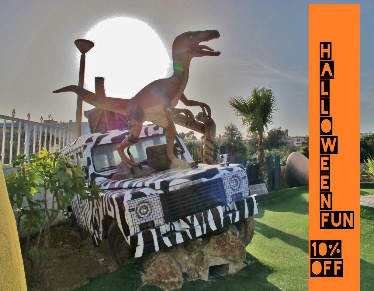 Halloween Discount at Adventure Golf Algarve