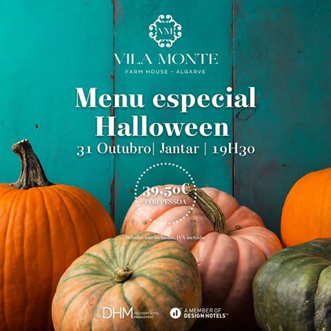 Halloween Menu at Vila Monte