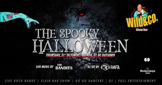 Halloween Party - The Bandits & DJ Rafa