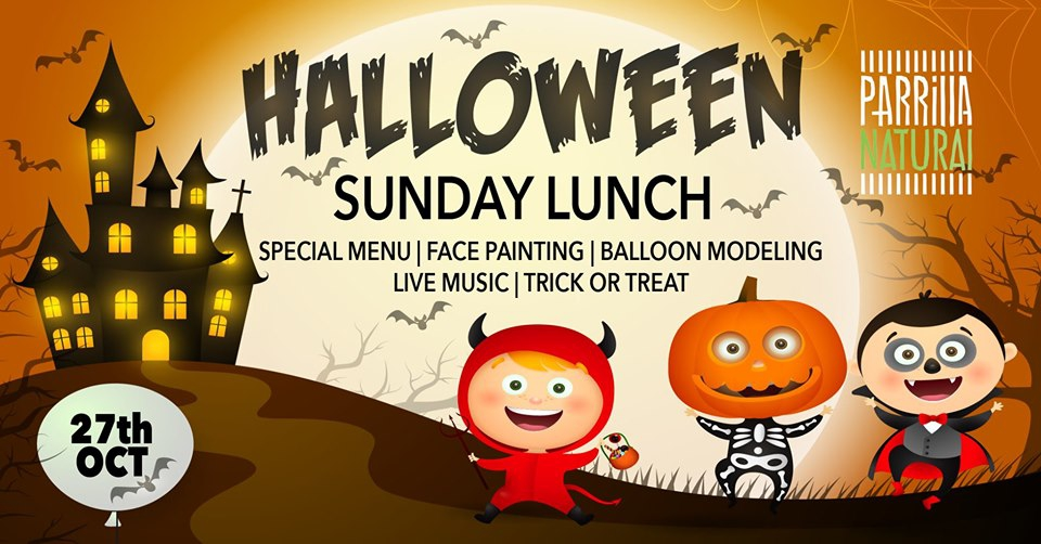 Halloween Sunday Lunch at Parrilla Natural