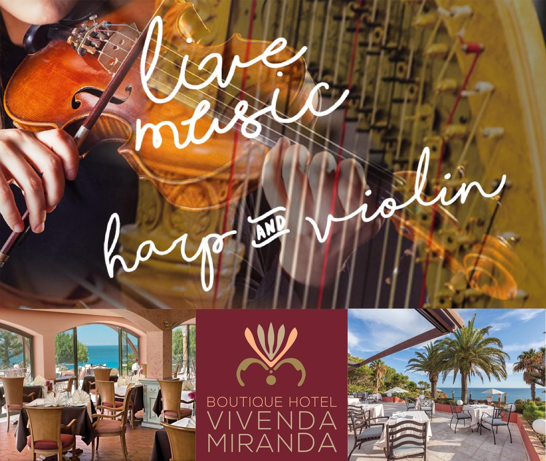Harp & Violin Concert at Vivenda Miranda