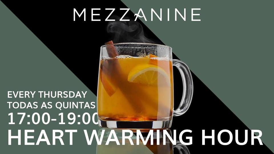Heart Warming Hour at the Mezzanine Bar