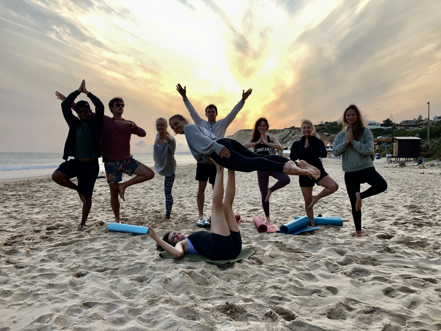 Hike&Sunset Yoga at Lagos's hidden spot