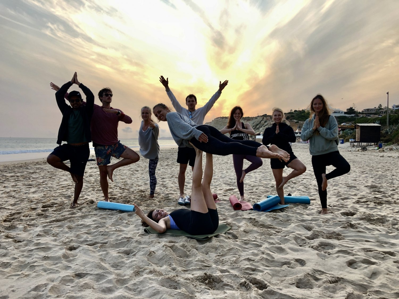 Hike&Sunset Yoga at Lagos's hidden spot