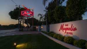 Holloween Movie Night at The Magnolia Hotel