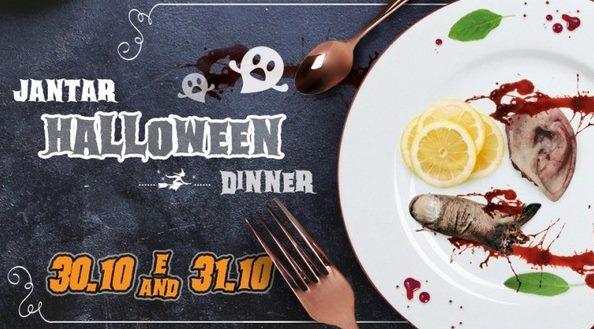 Jantar Halloween / Halloween Dinner