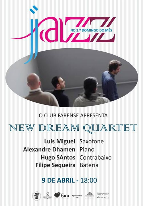 Jazz ao Domingo à tarde - New Dream Quartet