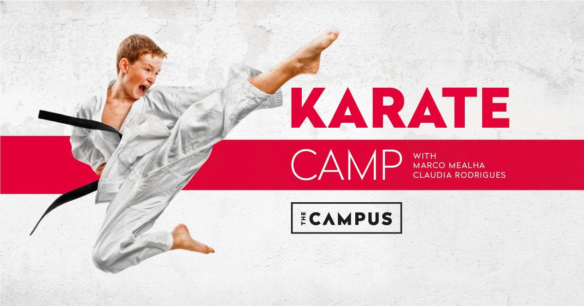 Karate Camp at the Campus