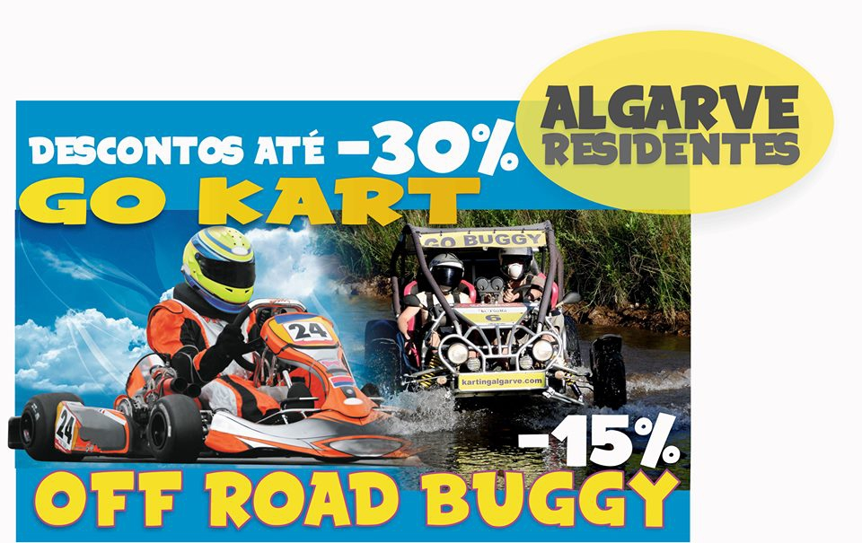 Karting Almancil - Up to 30 % off for Algarve residents