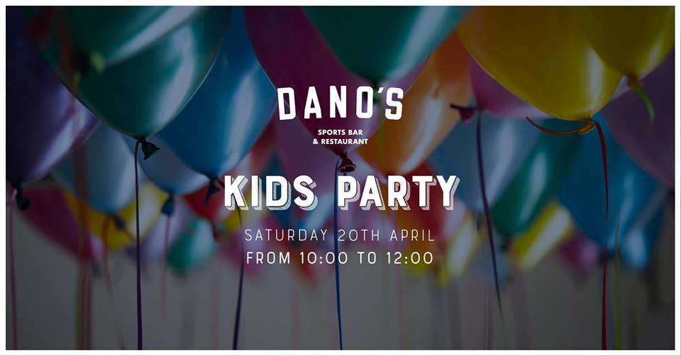 Kids Party at Dano's