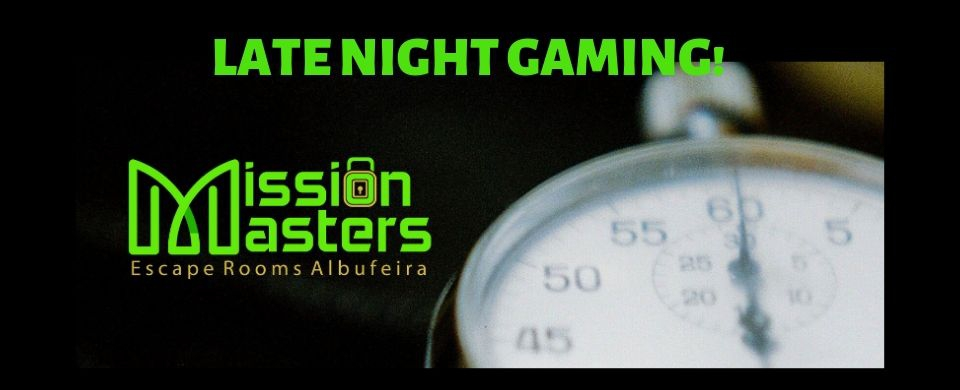Late Night Gaming at Mission Masters Escape Rooms