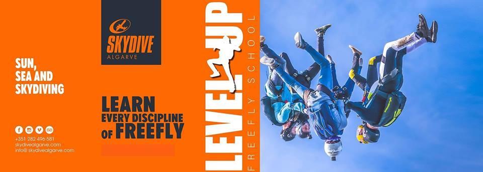 Level Up Freefly Week at Skydive Algarve