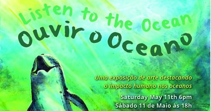 Listen to the Ocean - art exhibition