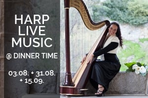 Live Harp Music at Mirandus Restaurant
