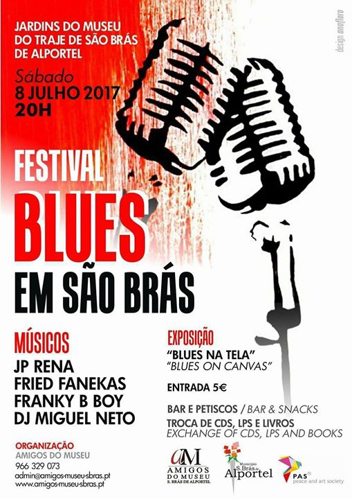 Live In The Museum Garden At Sao Bras: The Bluesfestival: Franky B Boy Band