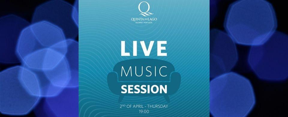 Live Music Session via Instagram by Quinta do Lago