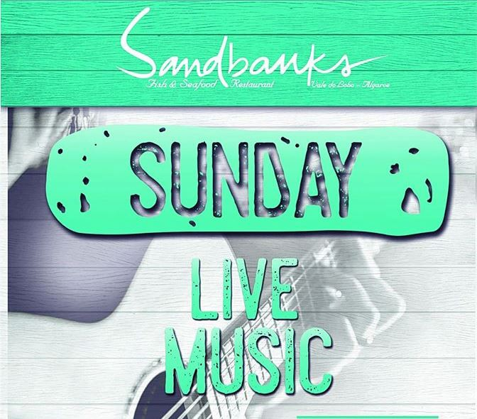 Live Music Sundays at Sandbanks