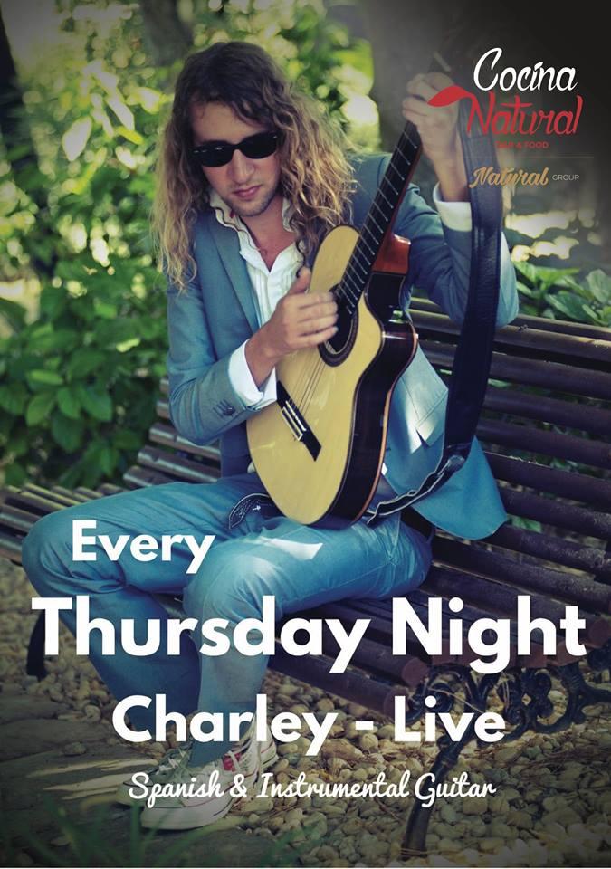 Live Music Thursdays at Cocina Natural