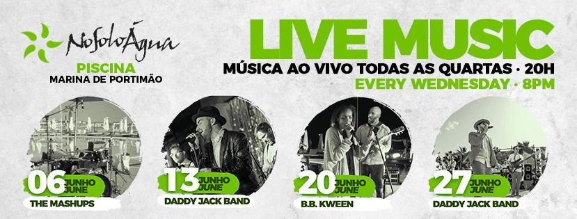 Live Music Wednesdays at NoSoloAgua