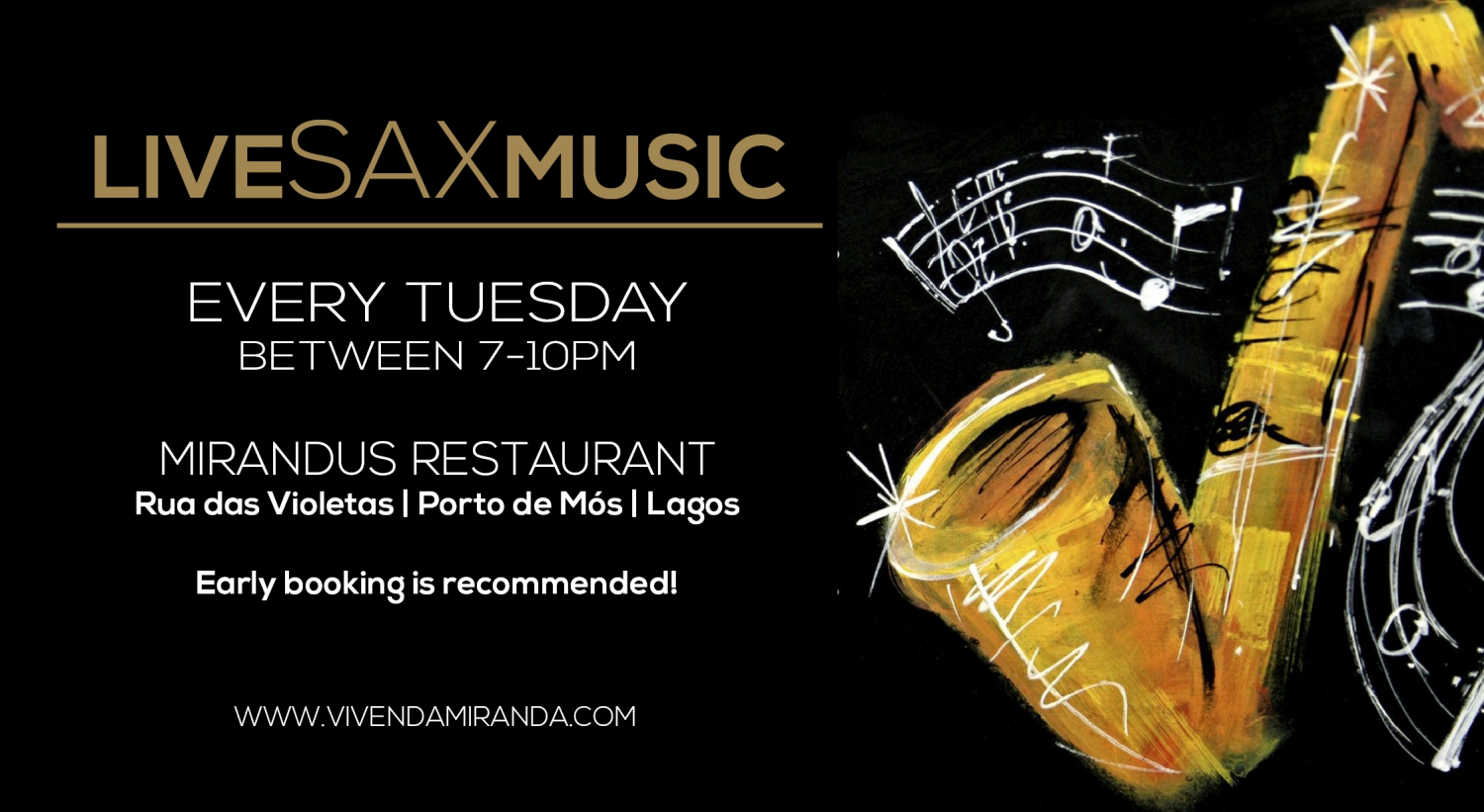 Live SAX Music at Mirandus Restaurant, Lagos