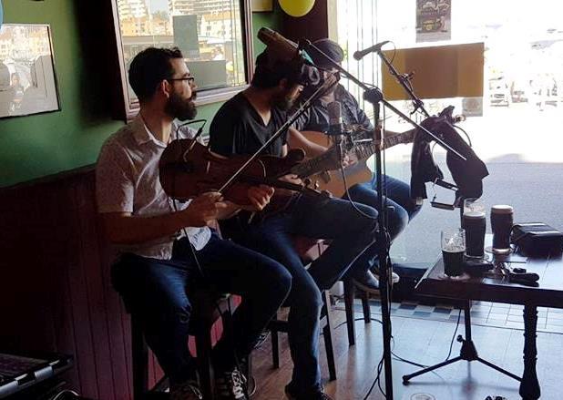 Live Traditional Irish Music Session