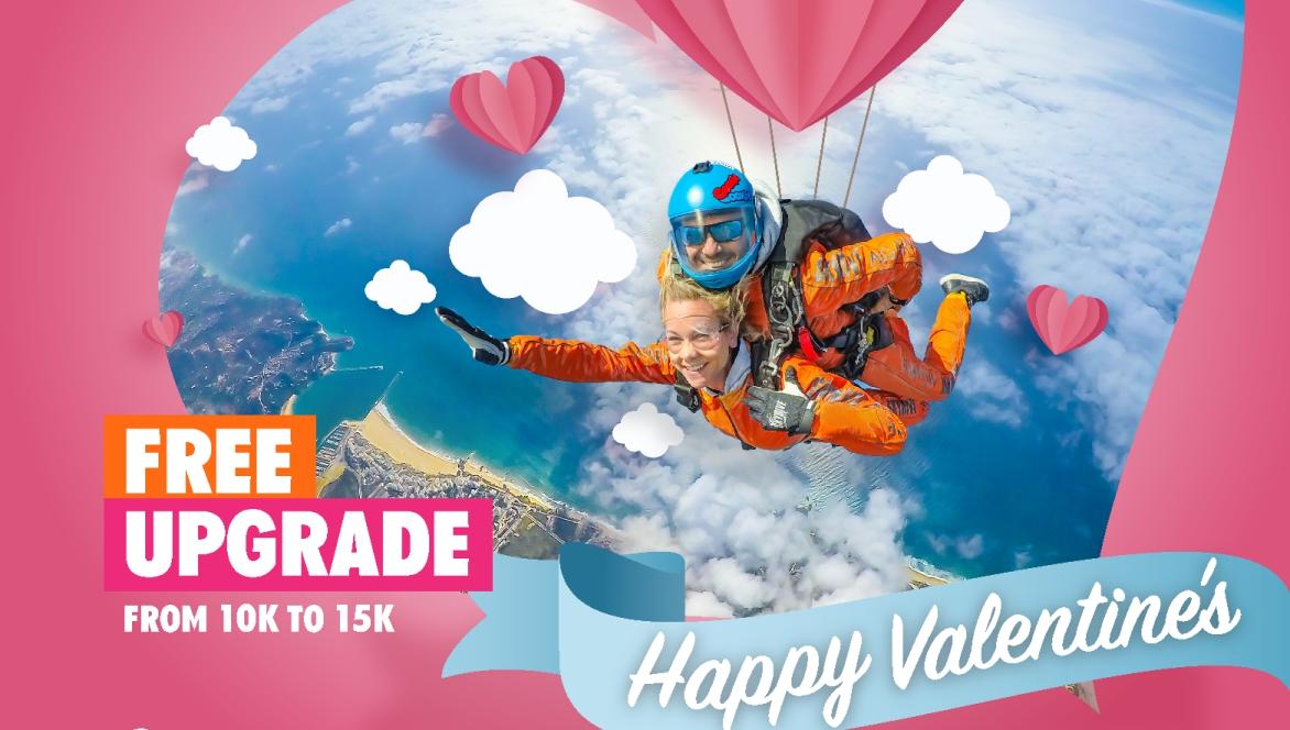 Love is in the Air at Skydive Algarve