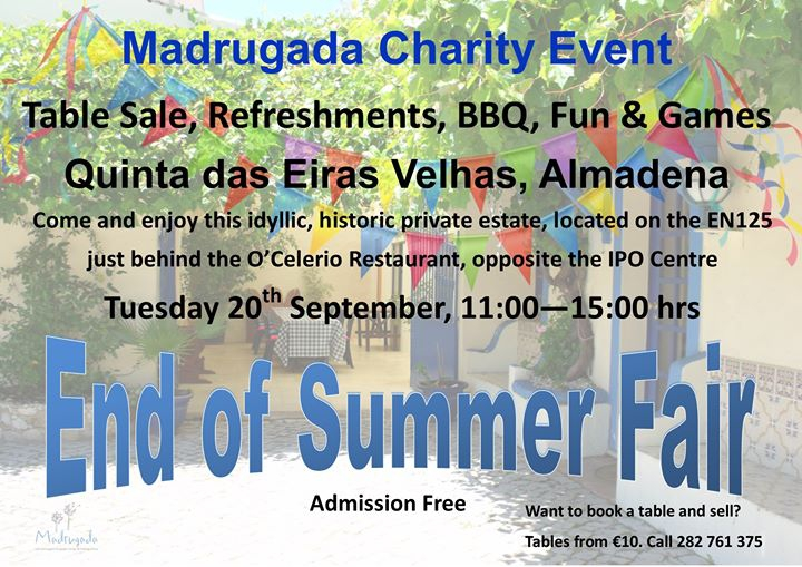 Madrugada End of Summer Fair