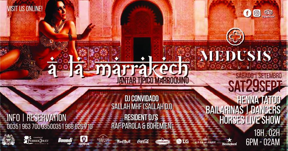 Medusis Club Moroccan Evening