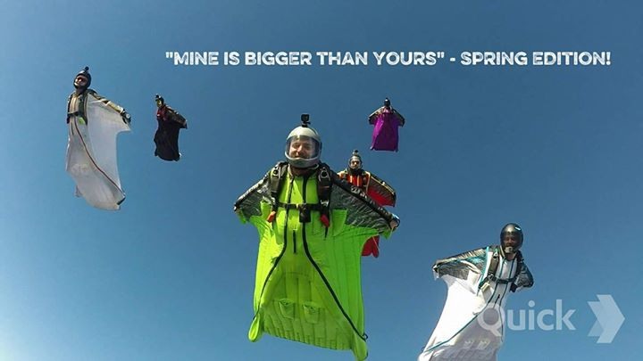 'Mine is bigger than yours'-Spring Edition! +NextLevel camp with SQRL Team!