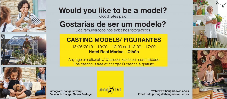 Model casting - 15th June - Hotel Real Marina, Olhão
