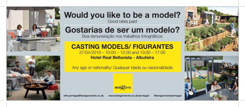 Model Casting with Hanger Seven in Albufeira