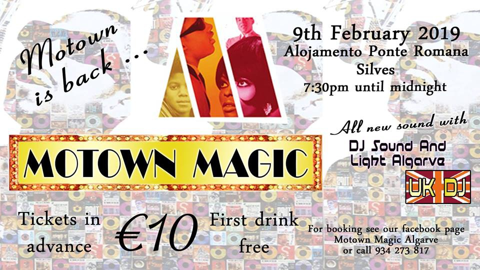 Motown Magic Algarve