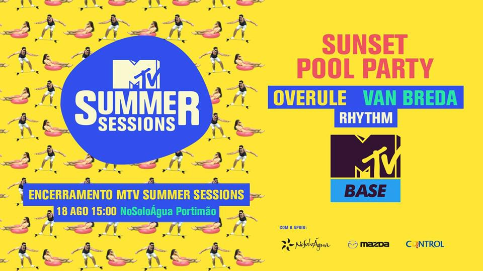 MTV Sessions Closing Pool Party at NoSoloAgua
