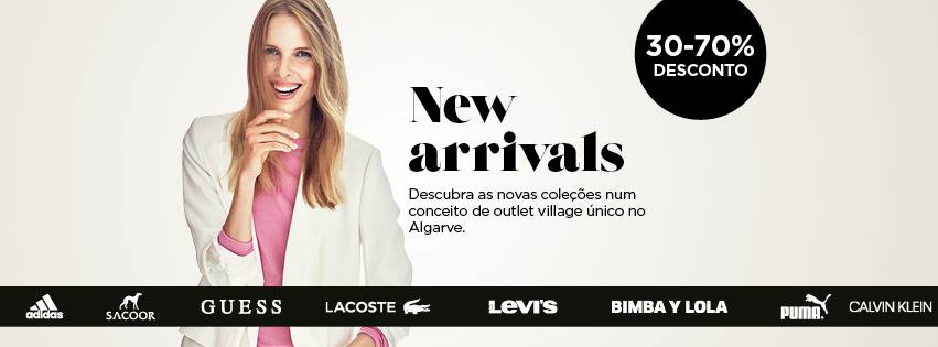 New Arrivals at Designer Outlet Algarve