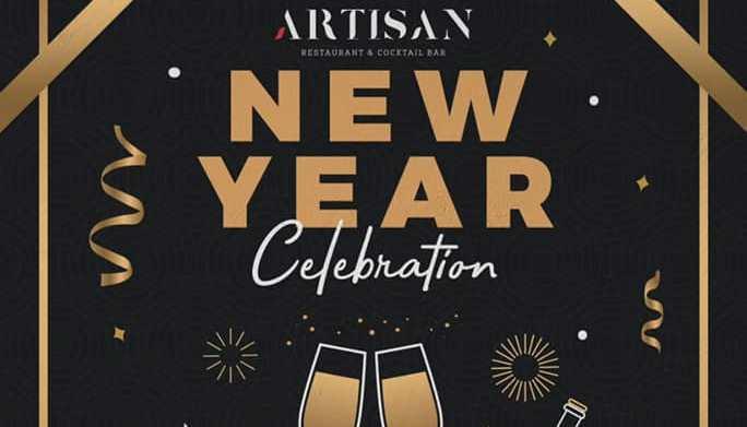 New Year's Eve at Artisan Restaurant & Bar