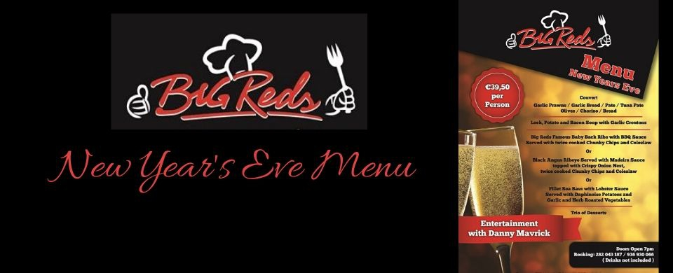 New Year's Eve at Big Red's