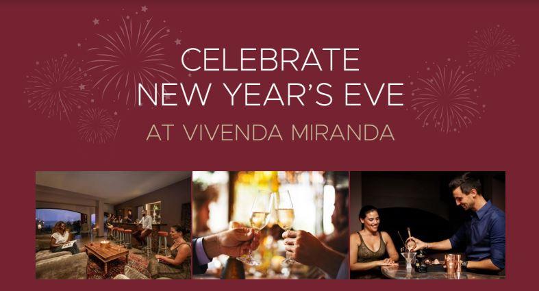 New Years Eve at Boutique Hotel Vivenda Miranda