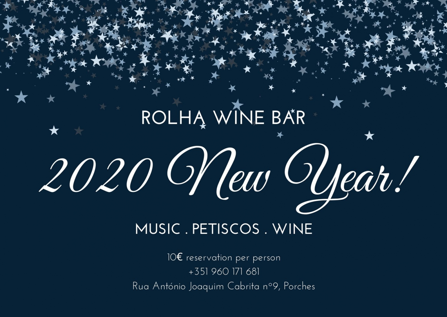 New Year's Eve at Rolha Wine Bar