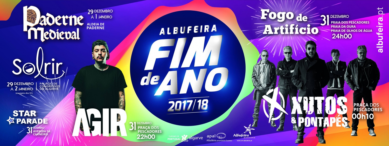 New Year's Eve in Albufeira