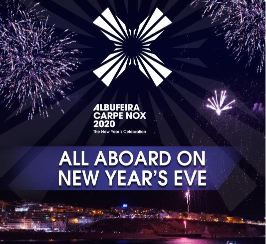 New Year's Eve in Albufeira - Albufeira Carpe Nox